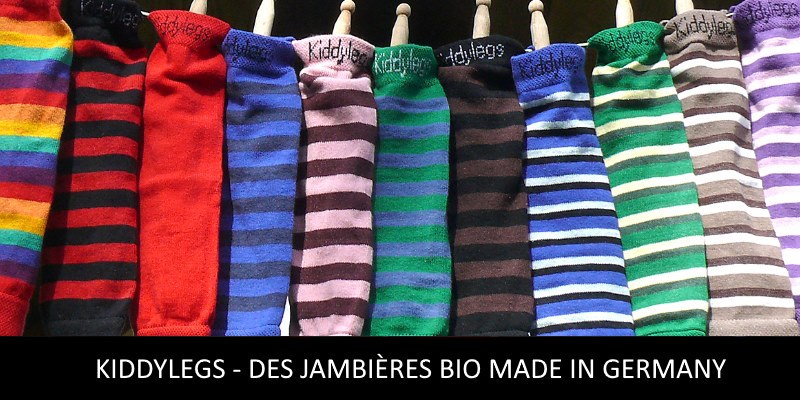 Kiddylegs des jambières pour enfants made in germany
