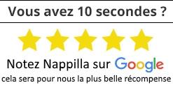 vous pouvez noter Nappilla