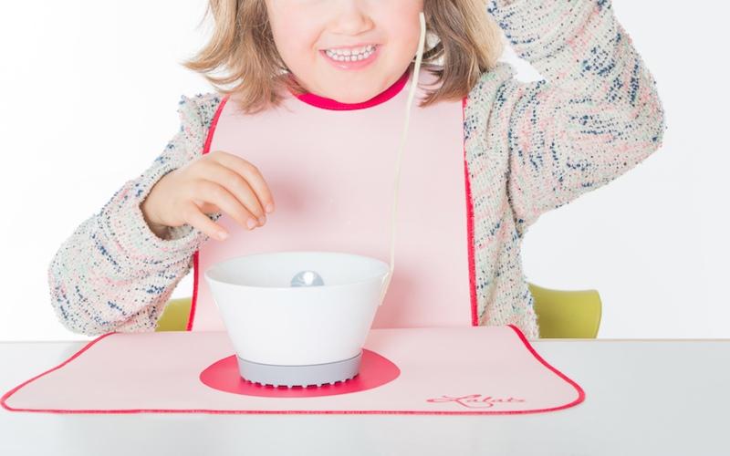 Bavoir Lalatz - Le top des bavoirs tablier pour enfants.