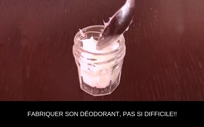Fabriquer son déodorant, pas si  difficile !!