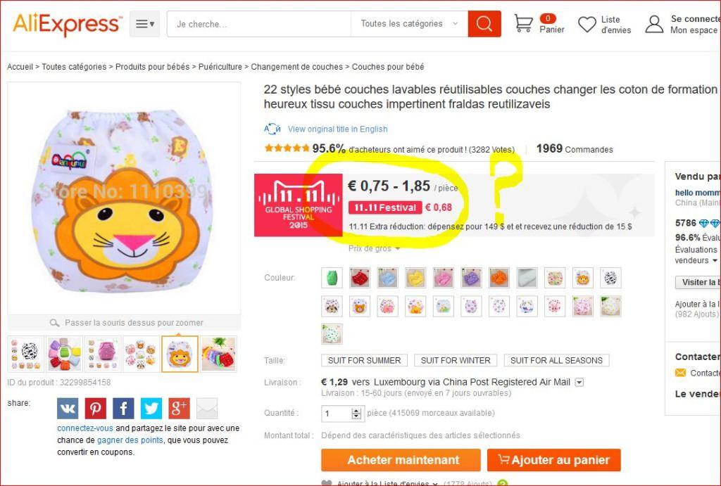 A ce prix on achète c'est certain, mais est ce de la qualité ? Couches chinoises :(