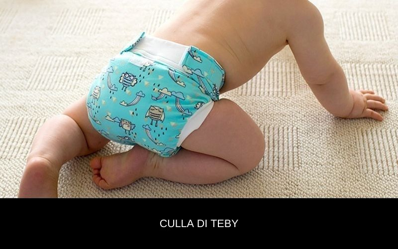Culla di Teby couche lavable hybride Made In Italy