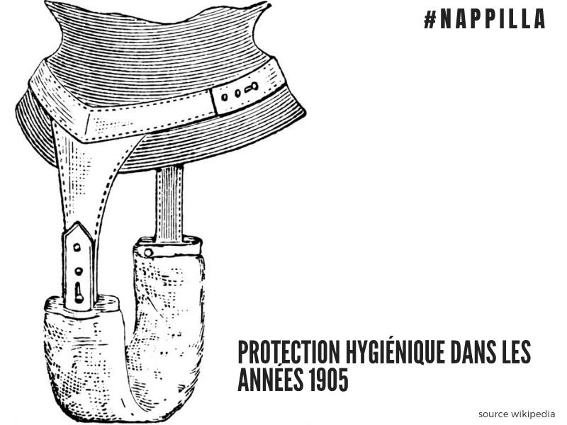 Protection hygiénique dans les année 1905 - Nappilla