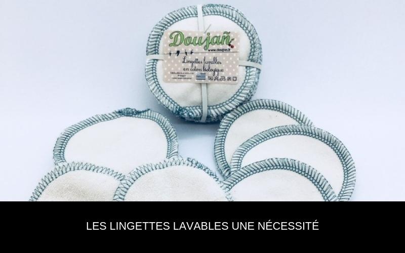 Les lingettes lavables une nécessité - Nappilla - Luxembourg