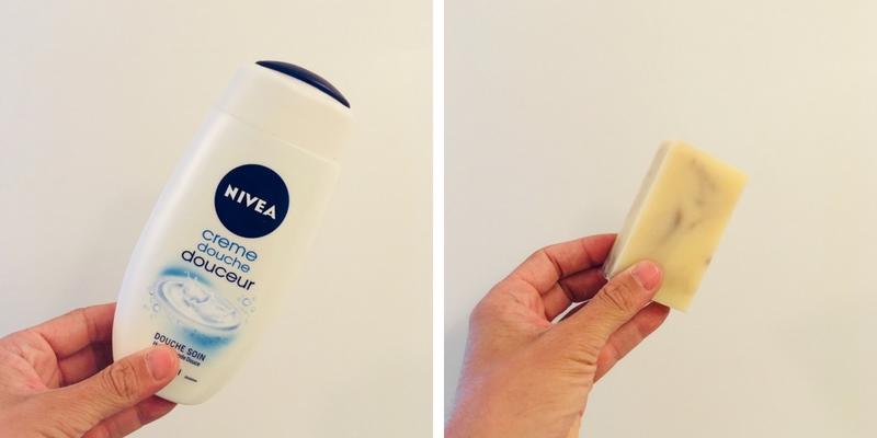 gel de douche vs. de savon
