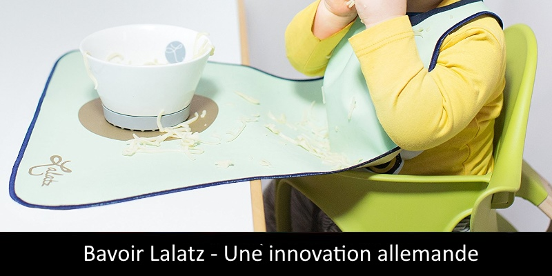 Bavoir Lalatz une innovation made in Germany