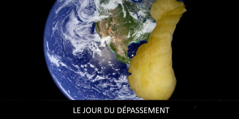 """le Jour du dépassement de la Terre""""(Earth Overshoot Day)"""