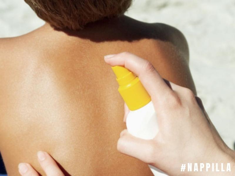 N'oubliez pas d'appliquer une crème solaire UV-A et UV-B 25 minimum