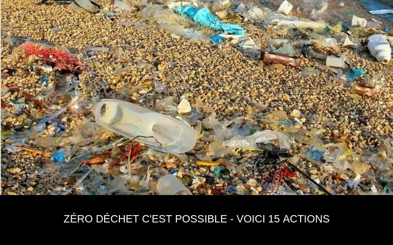 15 actions à mettre en place pour devenir un guerrier Zéro Waste