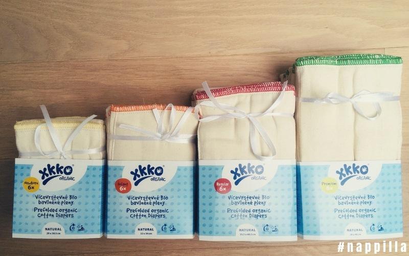 Des inserts pour couches 100% coton organique XKKO