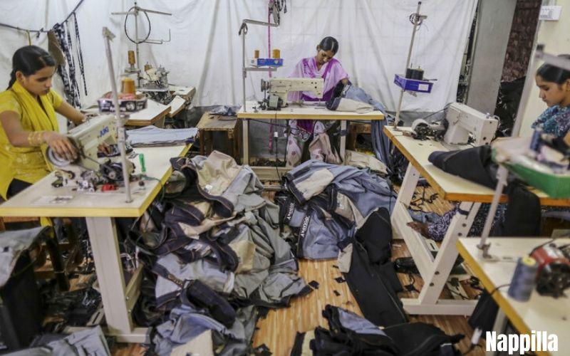 La fabrication textile un désastre écologique Nappilla