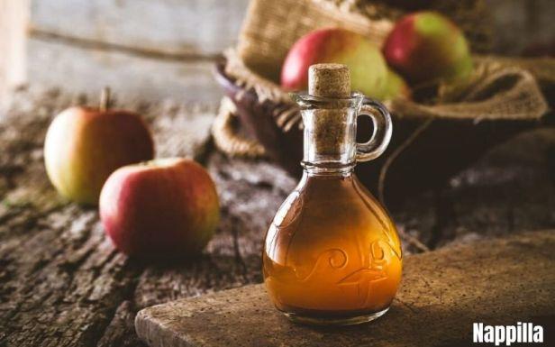 vinaigre de cidre une alternative au produits cosmétiques industriels - Nappilla