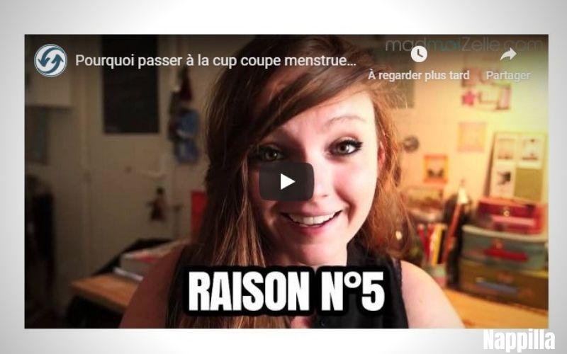 """La """"Cup"""" coupe menstruelle racontée par Mademoizel"""