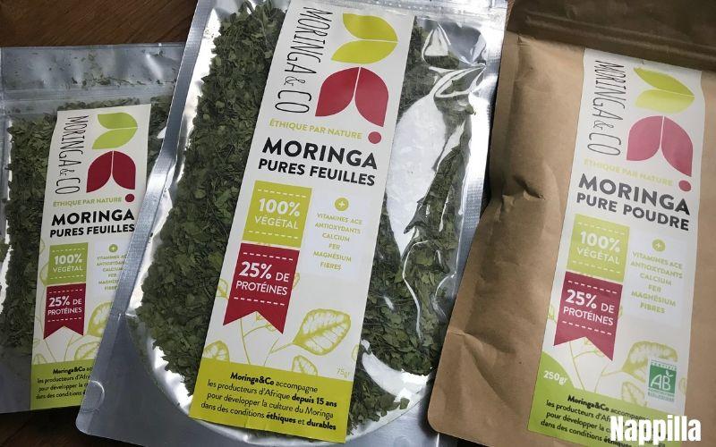 Moringa en poudre ou en feuille! tellement bénéfique pour notre corps  - Nappilla