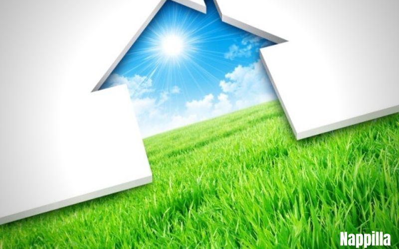 une maison à faible consommation d'énergie - nappilla