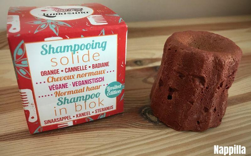 shampoing solide Lamazuna cannel badiane orange pour une vie zéro déchet - Nappilla