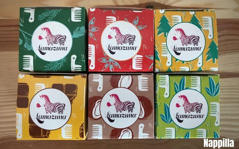 Shampoings solides Lamazuna pour une vie zéro déchet - Nappilla