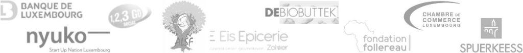 Ils nous font confiance - Spuerkeess - debiobuttek - Eis épicerie - banque de luxembourg - nyuko - chambre du luxembourg