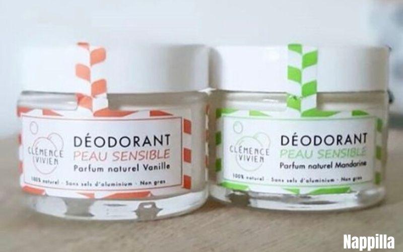 Déodorants  solides vanille et mandarine pour les peaux sensibles par Clémence et Vivien- Nappilla Blog - Luxembourg