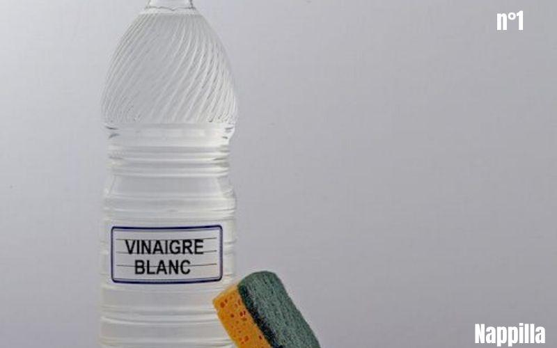 Les miracles du vinaigre d'alcool, on vous dit tout ou presque nappilla sur le vinaigre blanc