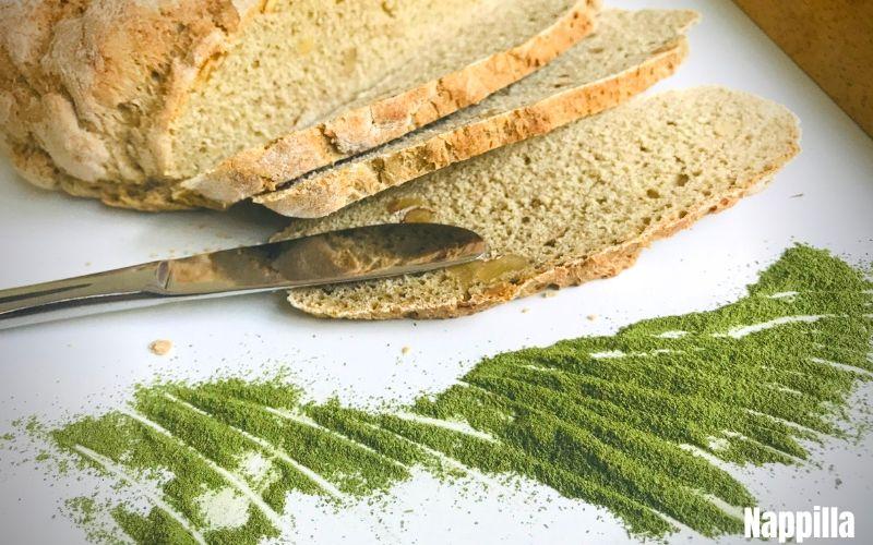 faire du pain au noix et au Moringa en poudre  - Nappilla Blog - Luxembourg