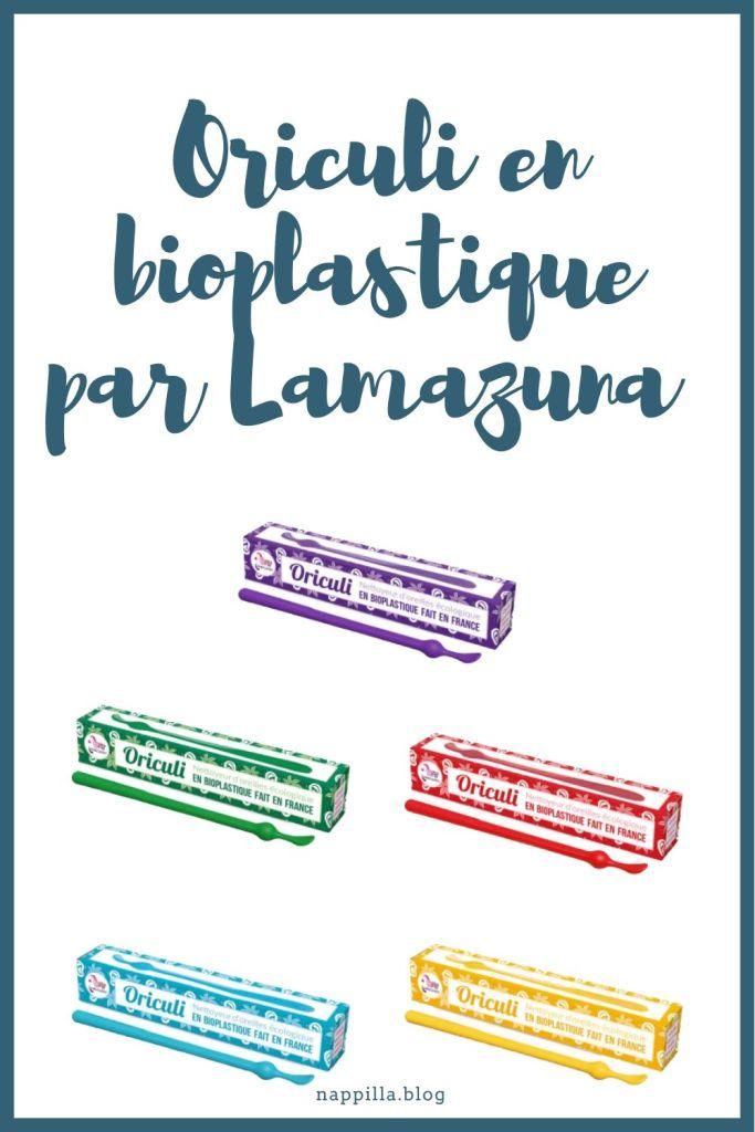 Le coton tige écologique en plastique bio sourcé de Lamazuna- Nappilla Blog - Luxembourg