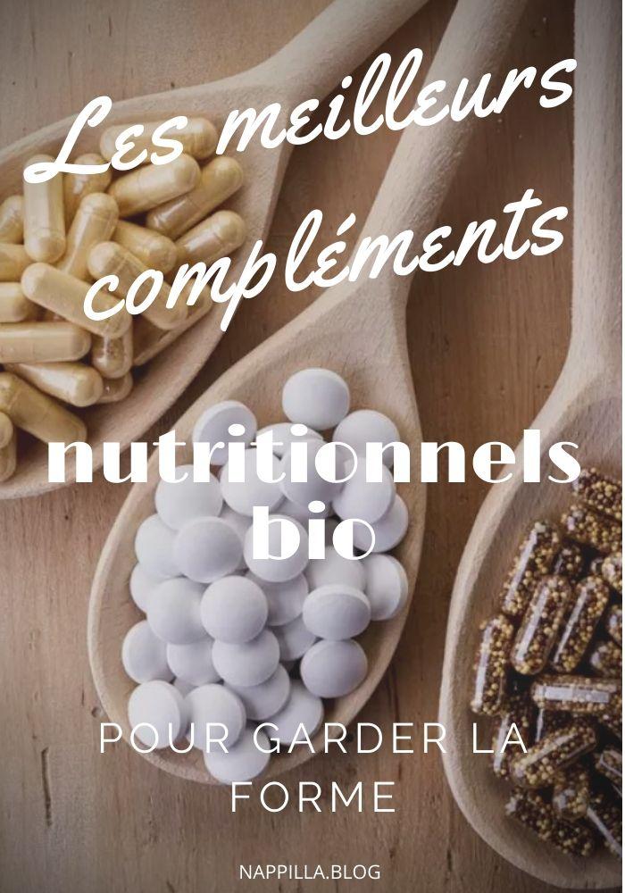 Les meilleurs compléments nutritionnels bio pour garder la forme  - Nappilla blog Luxembourg