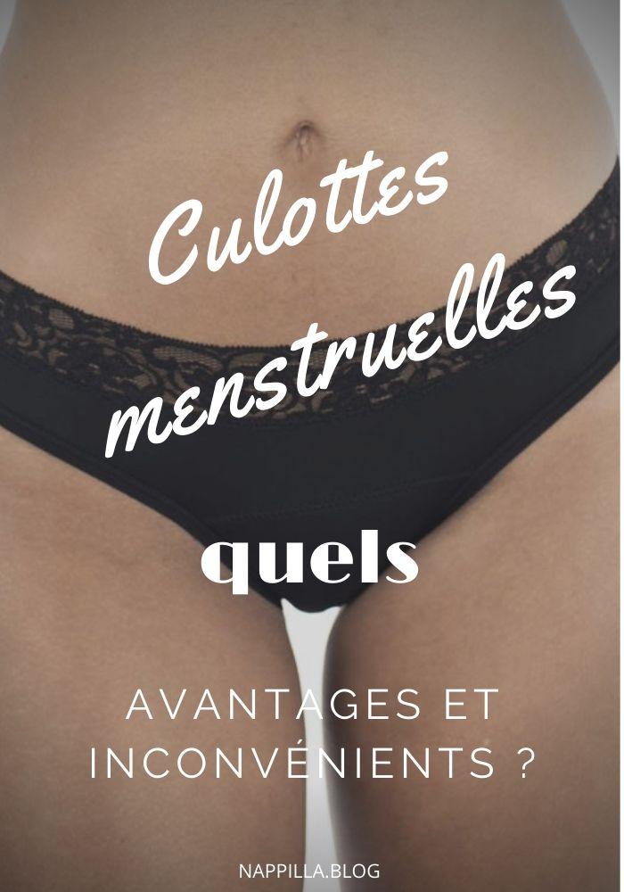 Culottes menstruelles : quels avantages et inconvénients ?- Nappilla blog Luxembourg