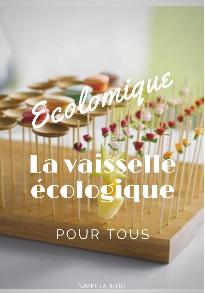 Ecolomique la vaisselle écologique pour tous - Nappilla blog