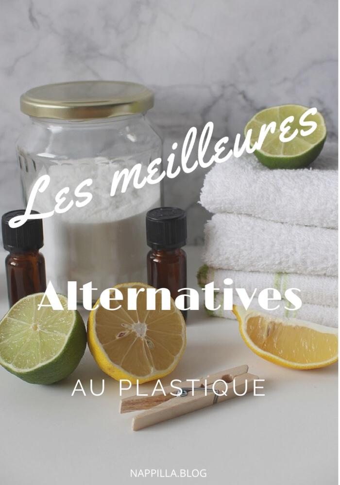 Les meilleures  alternatives  au plastique - blog nappilla zero dechet au luxembourg