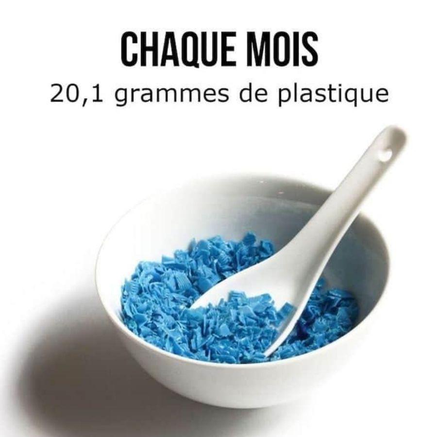 20 grammes de plastique par mois - Nappilla blog - Blog zéro déchet