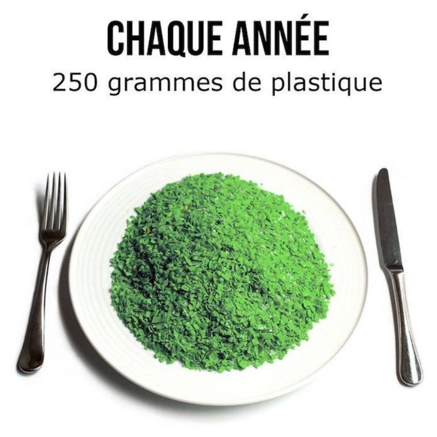 250 grammes de plastique chaque année - Nappilla blog - Blog zéro déchet