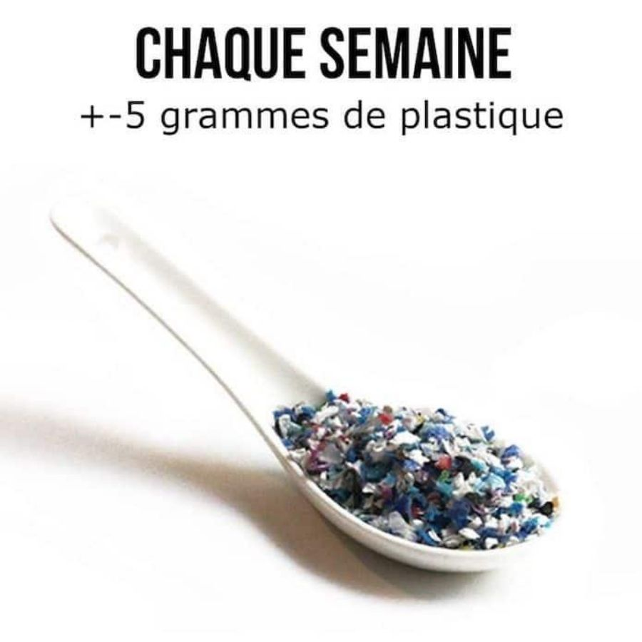 5 grammes de plastique chaque semaine- Nappilla blog - Blog zéro déchet