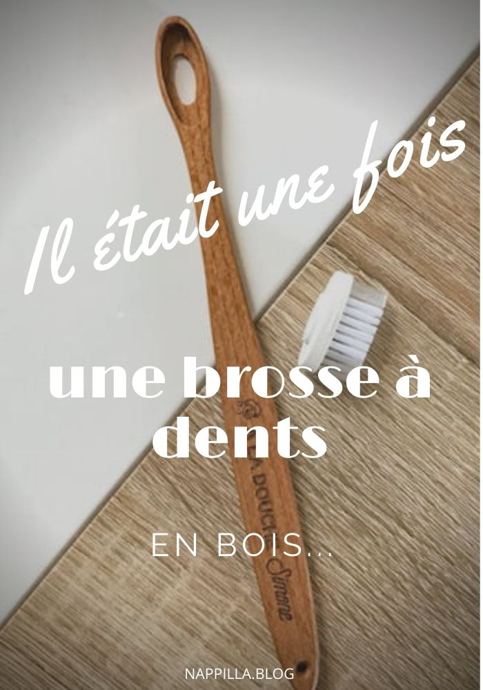 Brosse à dents en bois la maline - j'aime mes dents - Nappilla blog Luxembourg