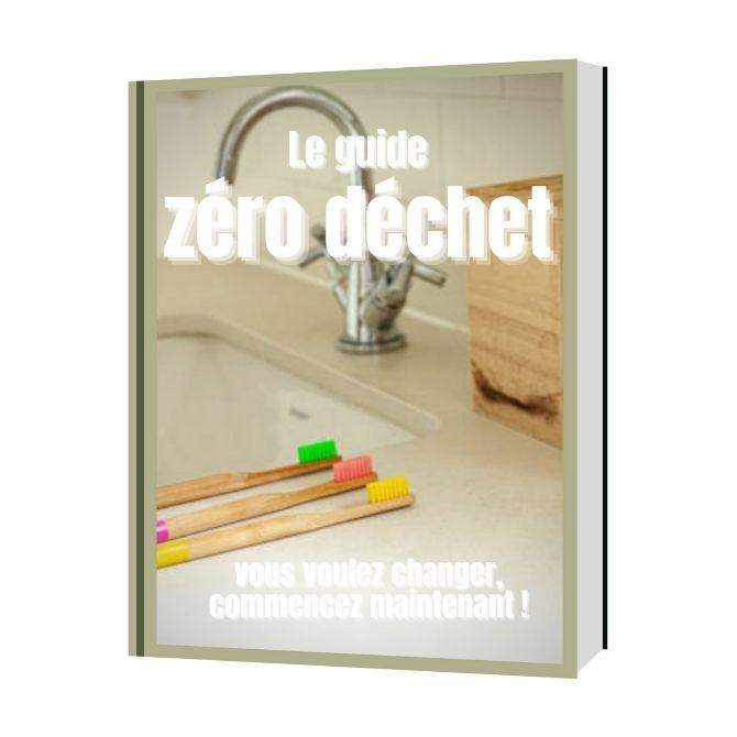 """Qu'allez vous découvrir dans ce livre PDF """"Guide zéro déchet, le changement c'est maintenant""""? Nappilla blog"""